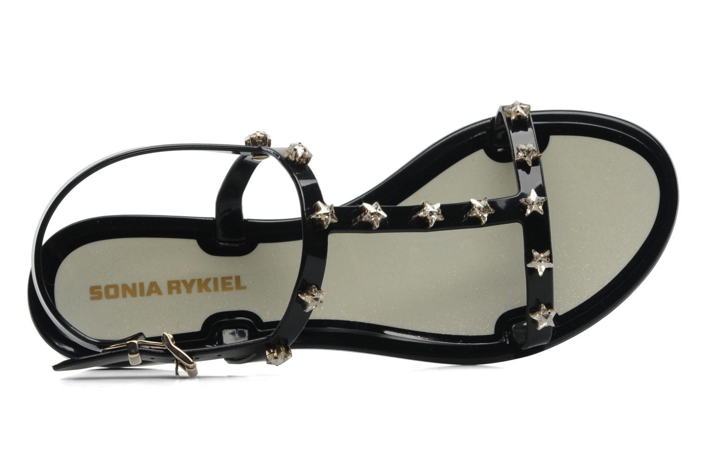 Sandales et nu-pieds Sonia Rykiel Poulette Noir vue gauche
