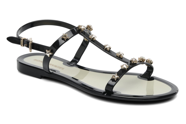 Sandales et nu-pieds Sonia Rykiel Poulette Noir vue détail/paire