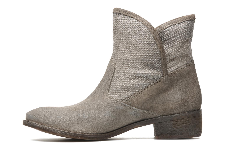 Bottines et boots Méliné Chanvre Gris vue face
