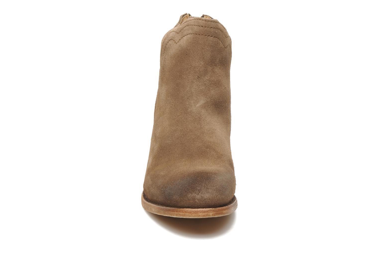 Bottines et boots H By Hudson Mistral Beige vue portées chaussures