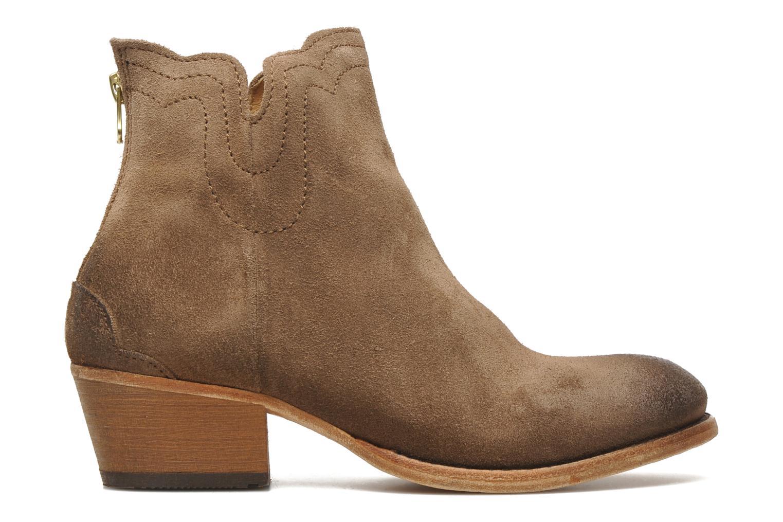 Bottines et boots H By Hudson Mistral Beige vue derrière