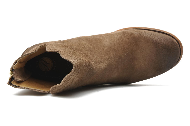 Bottines et boots H By Hudson Mistral Beige vue gauche