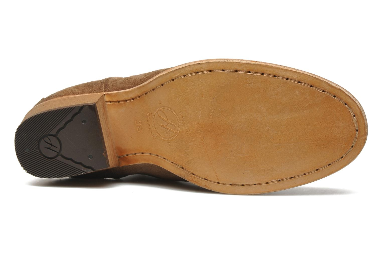 Bottines et boots H By Hudson Mistral Beige vue haut
