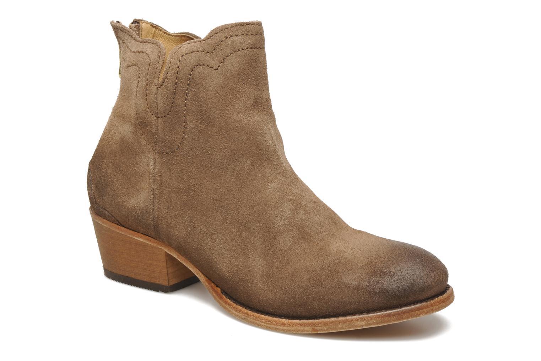 Boots en enkellaarsjes H By Hudson Mistral Beige detail