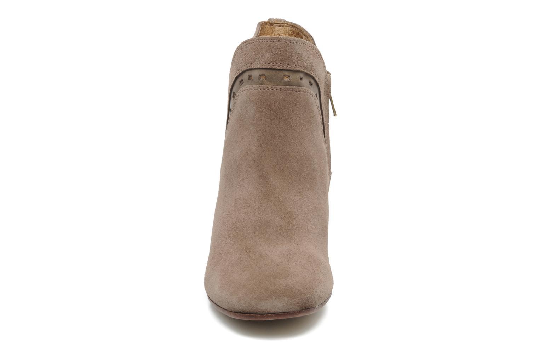 Bottines et boots H By Hudson Rodin Beige vue portées chaussures