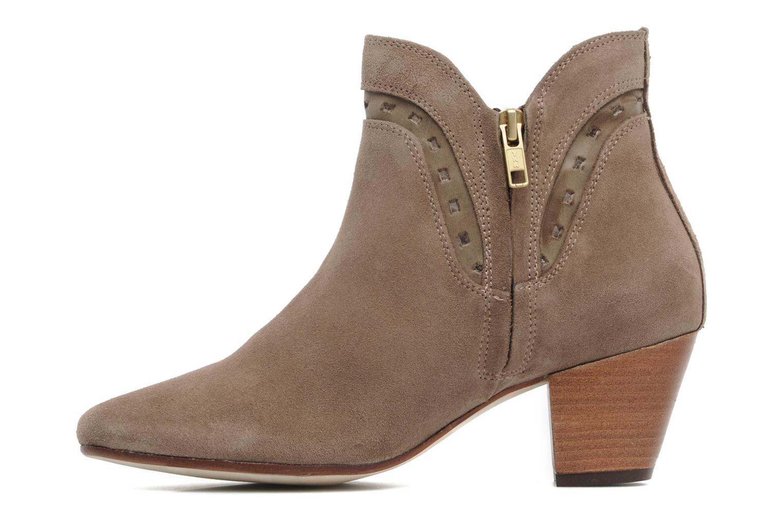 Boots en enkellaarsjes H By Hudson Rodin Beige voorkant