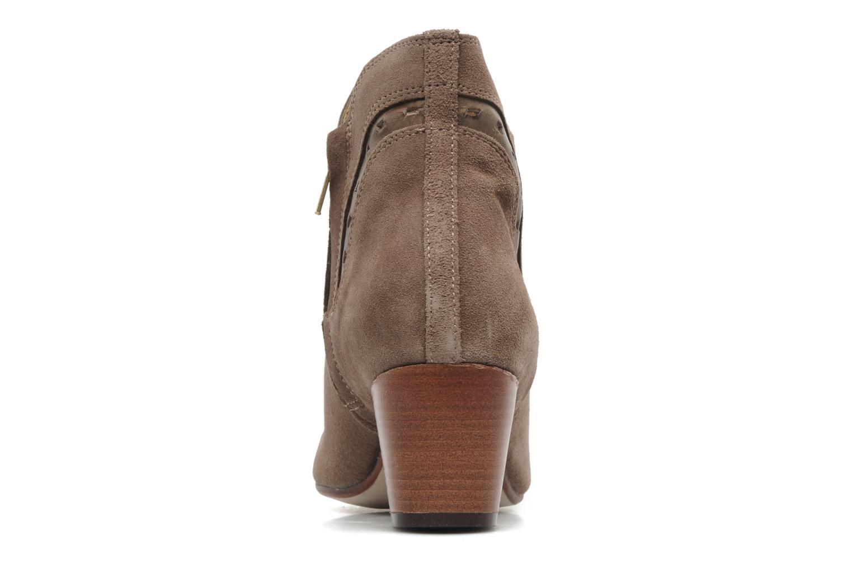 Bottines et boots H By Hudson Rodin Beige vue droite