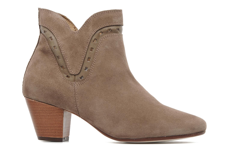Boots en enkellaarsjes H By Hudson Rodin Beige achterkant