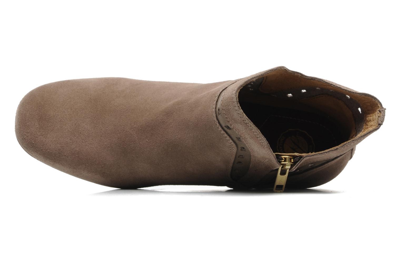 Bottines et boots H By Hudson Rodin Beige vue gauche