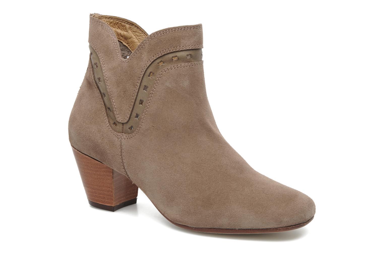 Boots en enkellaarsjes H By Hudson Rodin Beige detail