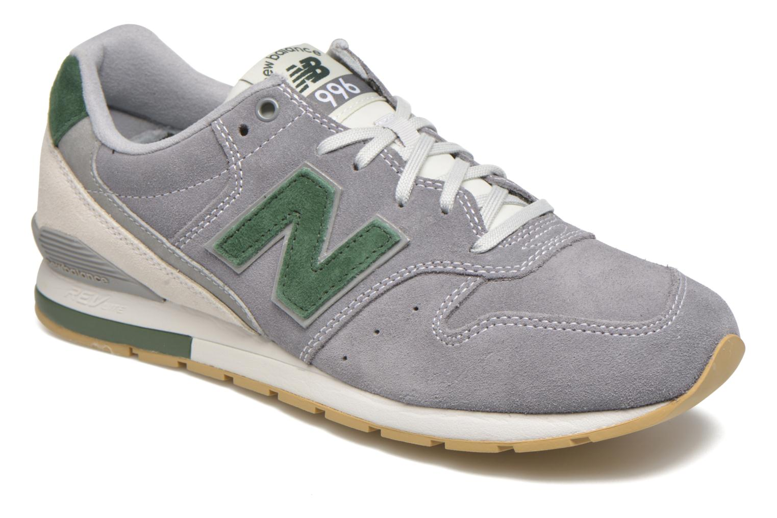Trainers New Balance MRL996 Grey detailed view/ Pair view