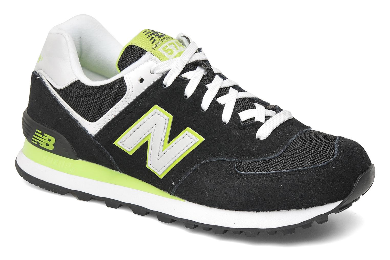 Sneakers New Balance WL574 Sort detaljeret billede af skoene
