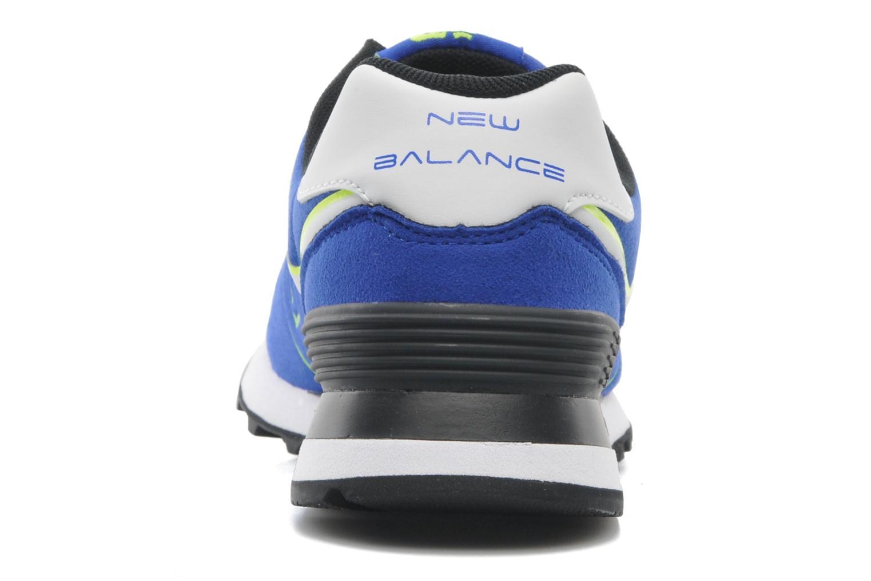 Baskets New Balance WL574 Bleu vue droite