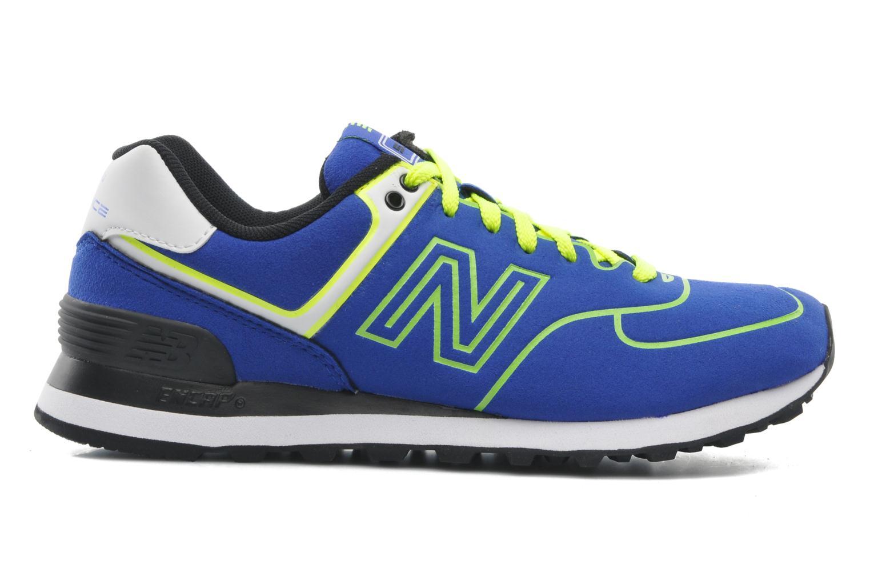 Sneakers New Balance WL574 Blauw achterkant