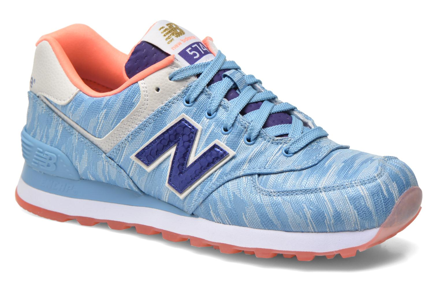 Sneakers New Balance WL574 Blauw detail