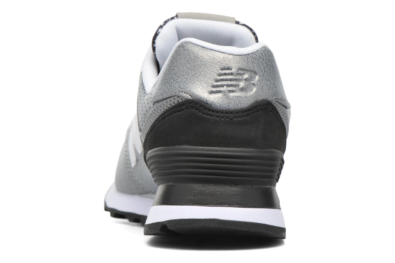 Sneaker New Balance WL574 silber ansicht von rechts