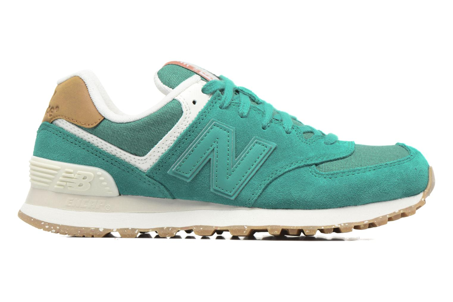 Trainers New Balance WL574 Green back view