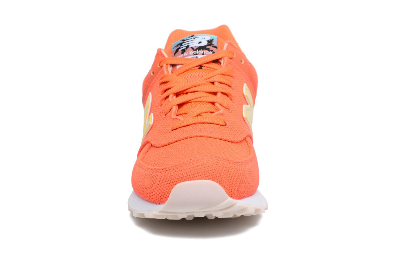 Sneakers New Balance WL574 Oranje model