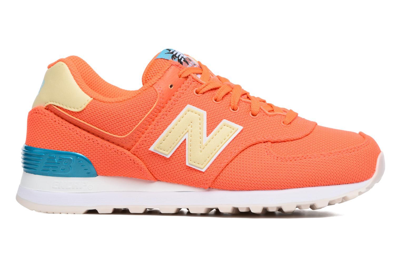 Sneakers New Balance WL574 Oranje achterkant