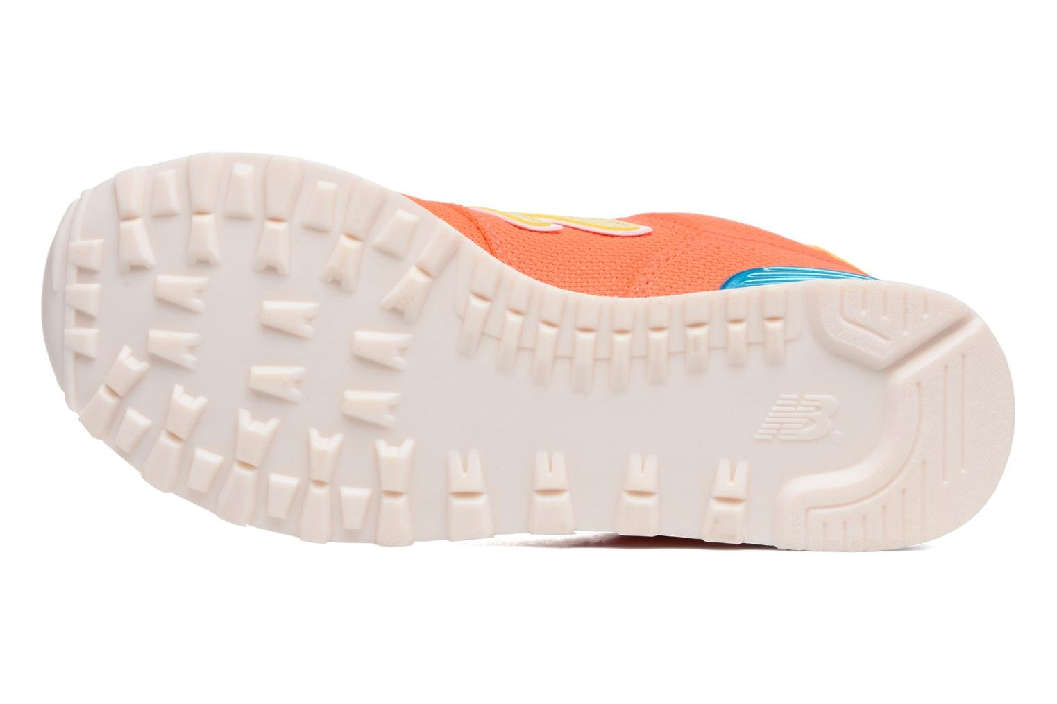 Trainers New Balance WL574 Orange view from above