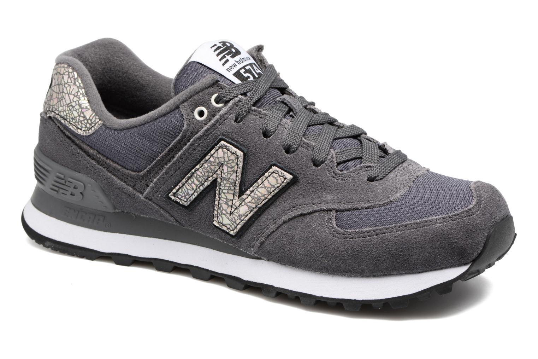 Sneaker New Balance WL574 grau detaillierte ansicht/modell