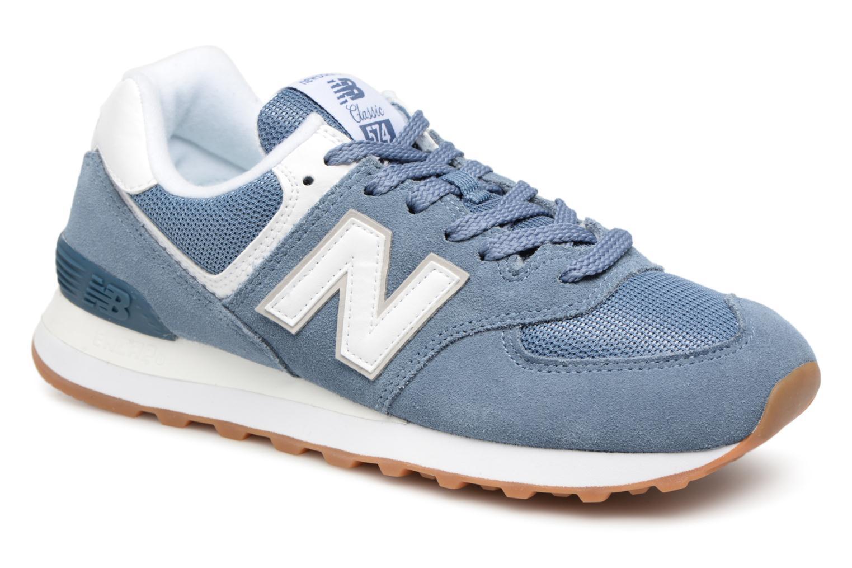 Grandes descuentos últimos zapatos New Balance WL574 (Azul) - Deportivas Descuento
