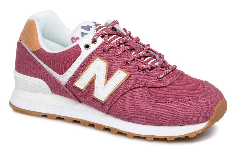 Nuevos zapatos para hombres y mujeres, descuento por tiempo limitado New Balance WL574 (Vino) - Deportivas en Más cómodo