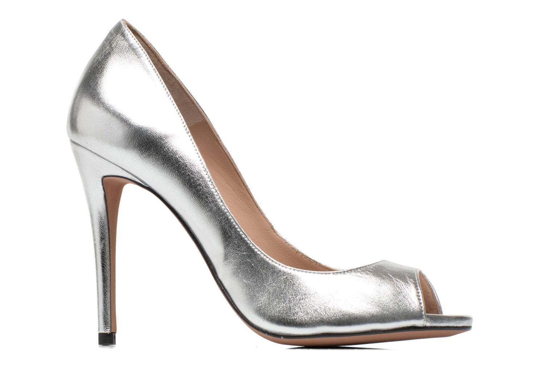 High heels Pura Lopez Gabriella Silver back view