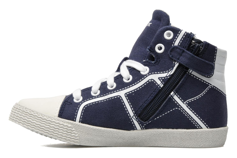 Sneakers Geox J SMART B. A Blauw voorkant