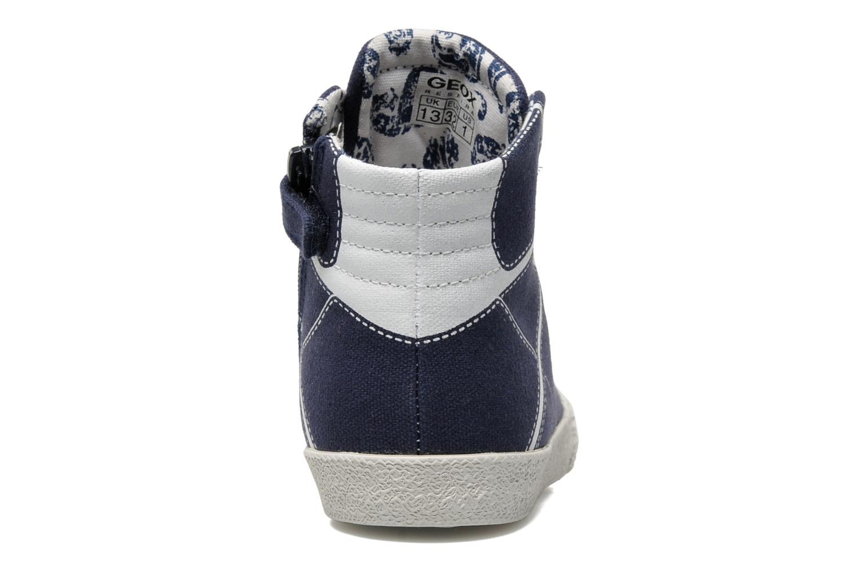 Baskets Geox J SMART B. A Bleu vue droite