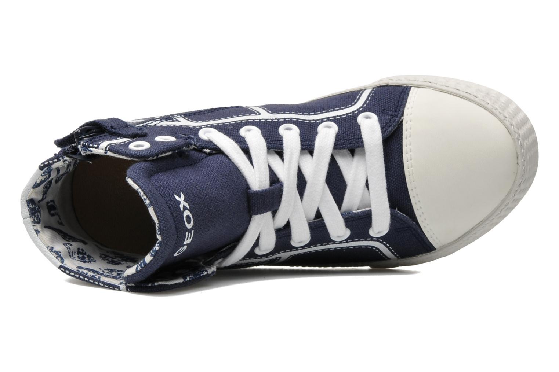 Sneakers Geox J SMART B. A Azzurro immagine sinistra