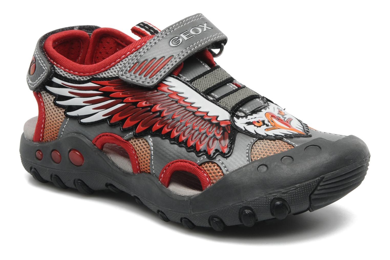 Sandales et nu-pieds Geox J SAND. KYLE A Rouge vue détail/paire