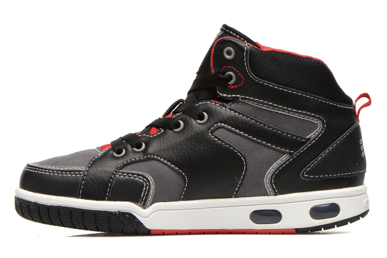 Sneakers Geox J GREGG A Zwart voorkant