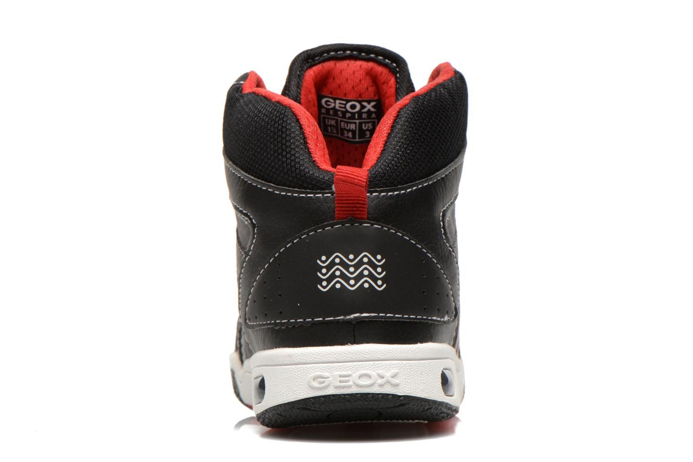 Sneakers Geox J GREGG A Zwart rechts