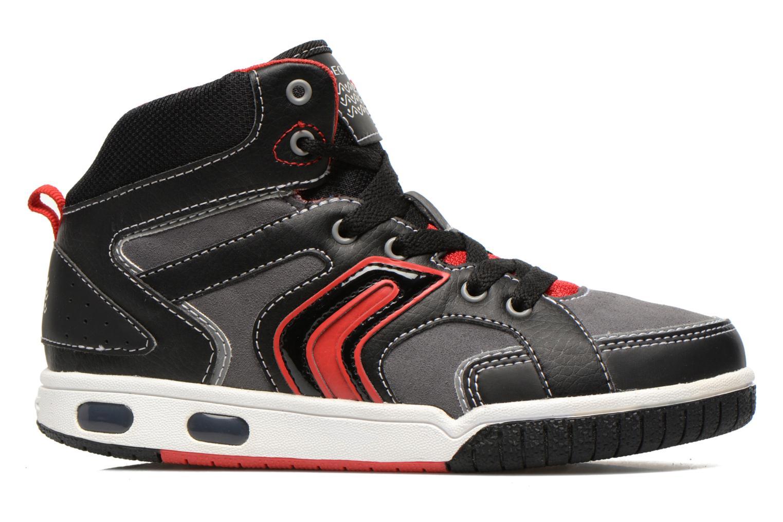 Sneakers Geox J GREGG A Zwart achterkant