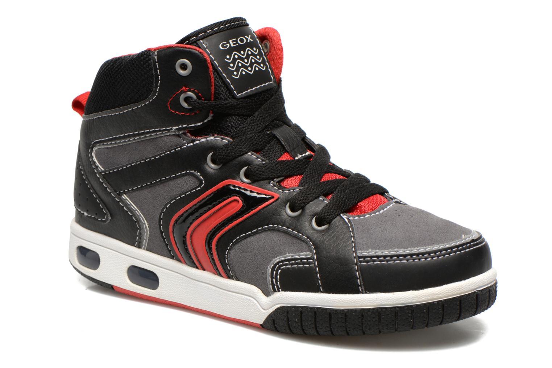 Sneakers Geox J GREGG A Zwart detail