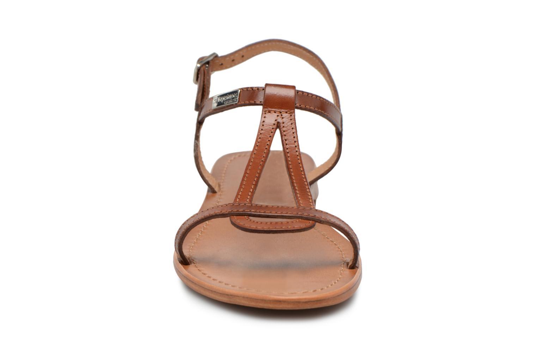 Sandals Les Tropéziennes par M Belarbi Hamess Brown model view