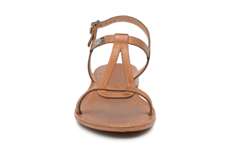 Sandalen Les Tropéziennes par M Belarbi Hamess braun schuhe getragen