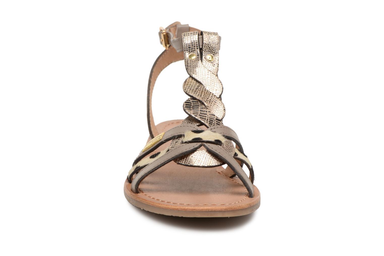 Sandali e scarpe aperte Les Tropéziennes par M Belarbi Hams Marrone modello indossato
