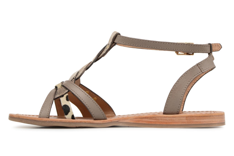 Sandals Les Tropéziennes par M Belarbi Hams Brown front view