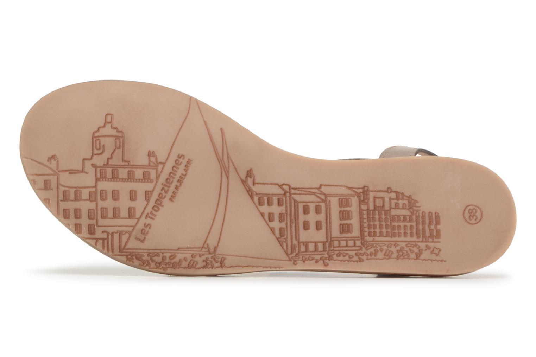 Sandales et nu-pieds Les Tropéziennes par M Belarbi Hams Marron vue haut