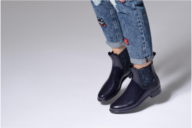 Stiefeletten & Boots Lemon Jelly Sardenha schwarz ansicht von unten / tasche getragen