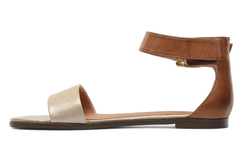 Sandales et nu-pieds Karston Soane Beige vue face