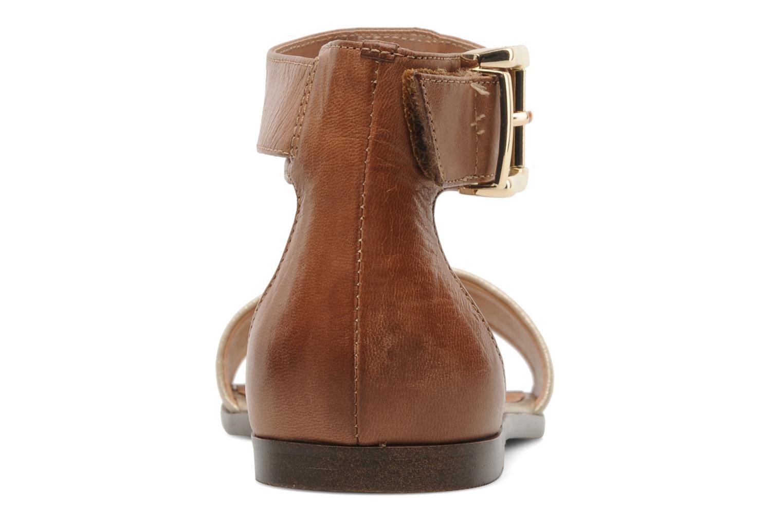 Sandales et nu-pieds Karston Soane Beige vue droite