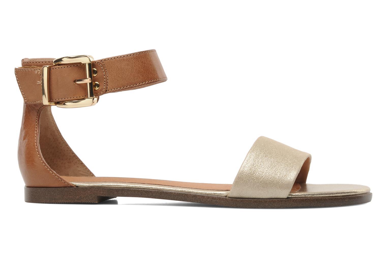 Sandales et nu-pieds Karston Soane Beige vue derrière