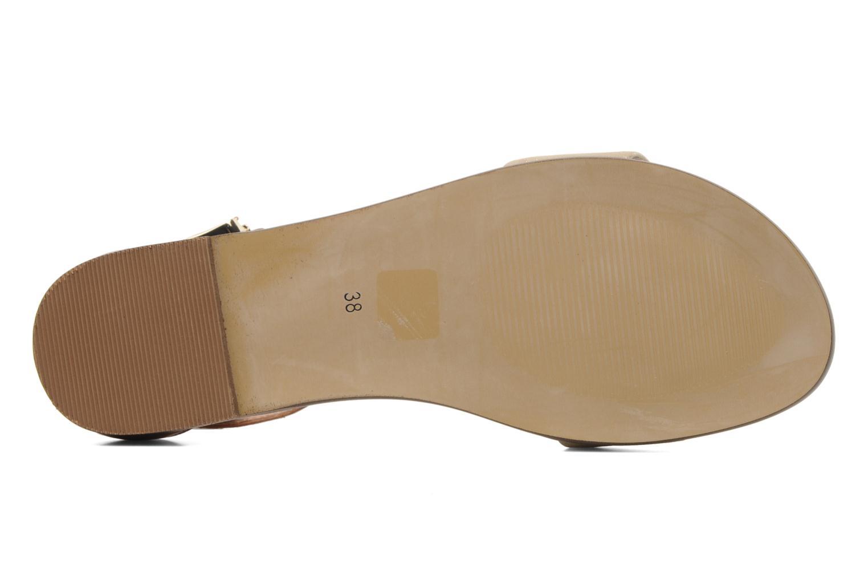 Sandales et nu-pieds Karston Soane Beige vue haut
