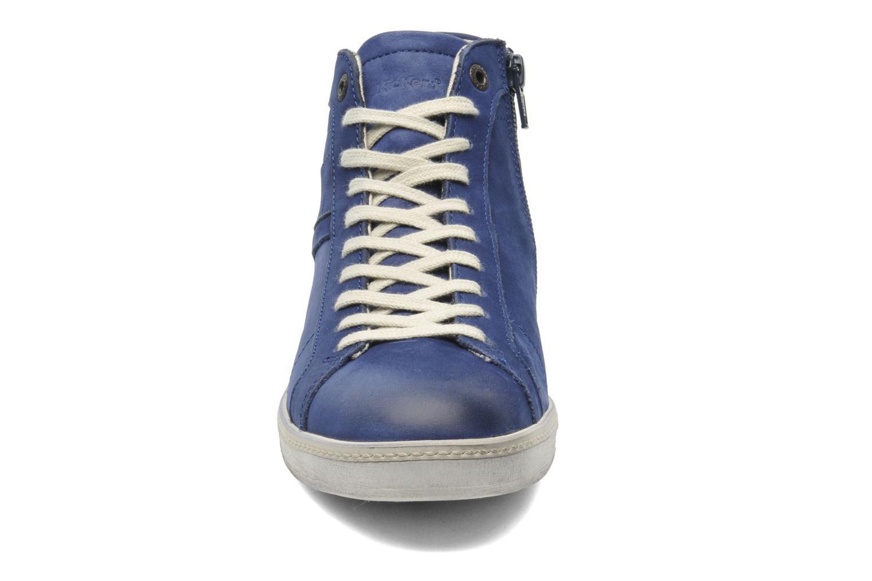 Sneakers Kickers Happier Blauw model
