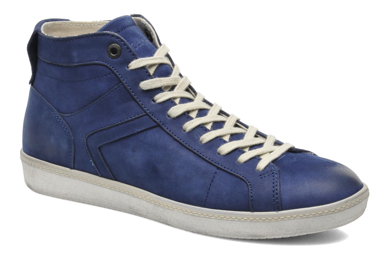 Sneakers Kickers Happier Blauw detail