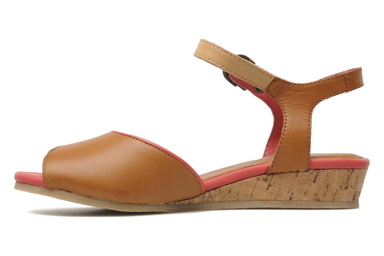 Sandalen Kickers Coco braun ansicht von vorne