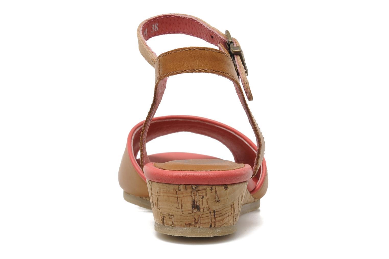 Sandalen Kickers Coco braun ansicht von rechts